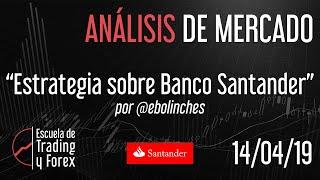 Estrategia sobre el Banco Santander