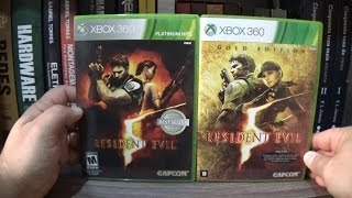 Unboxing - Resident Evil 5 GOLD EDITION PT-BR XBOX 360