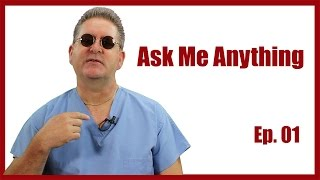The Name, Malpractice Insurance, New Grads in ICU, Hair : Ask Me Anything Ep. 01