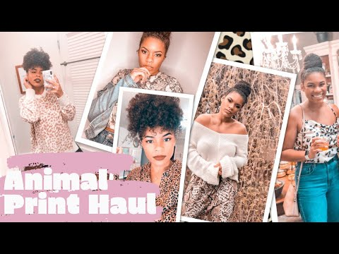 BIG ANIMAL PRINT HAUL | LEOPARD AND SNAKESKIN PRINT!!