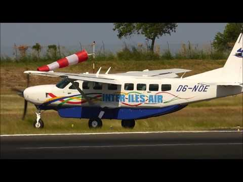 Inter Îles Air Landing and Take off Mayotte airport