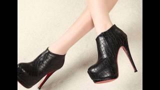 Женские ботильоны - 2018 Мода - Стиль / Women's boots / Damen Stiefel