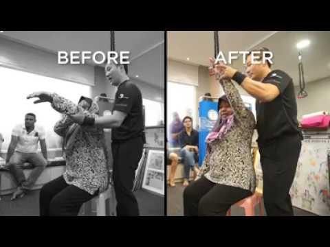 Healing Frozen Shoulder In just 4 minutes !