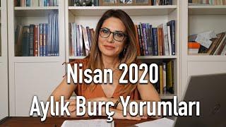 Nisan 2020 Aylık Burç Yorumları - Hande Kazanova ile Astroloji