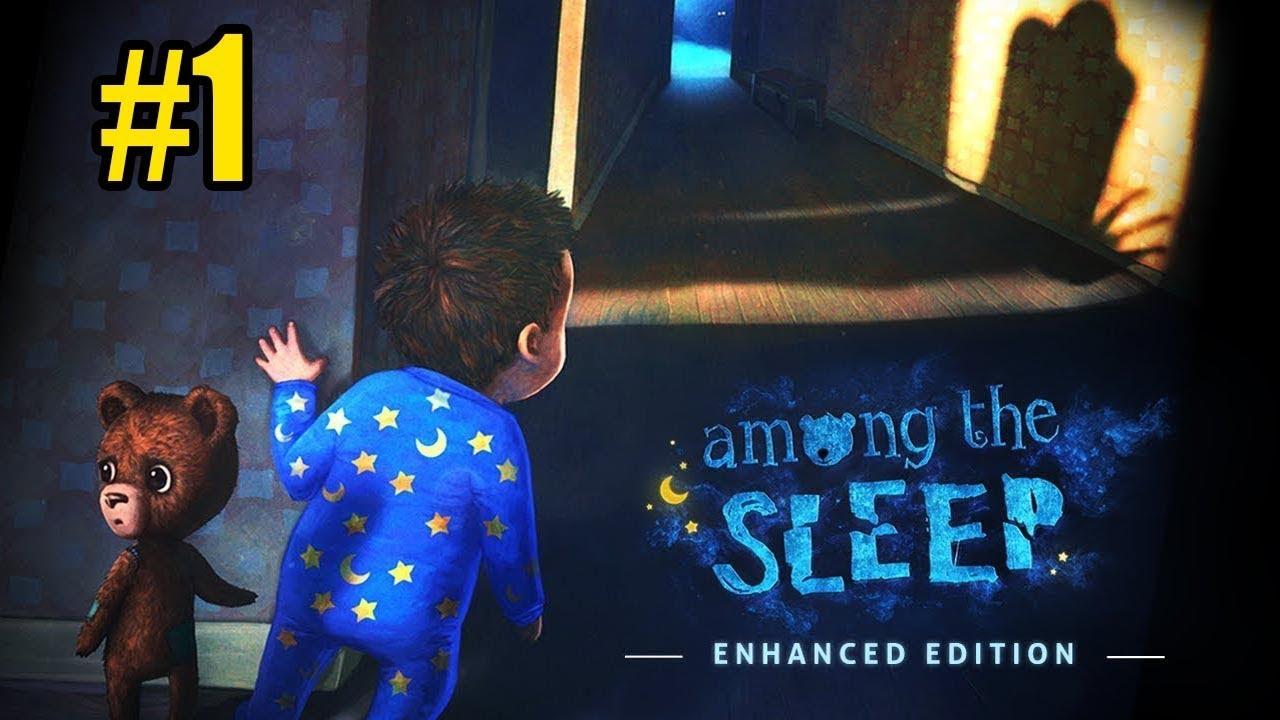 لعبة رعب الطفل الصغير و البيت المسكون Among The Sleep 1 Youtube
