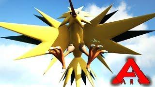 MI 1º LEGENDARIO! ZAPDOS Y EVOLUCIONES - POKÉMON ARK #5 - ARK: Survival Evolved