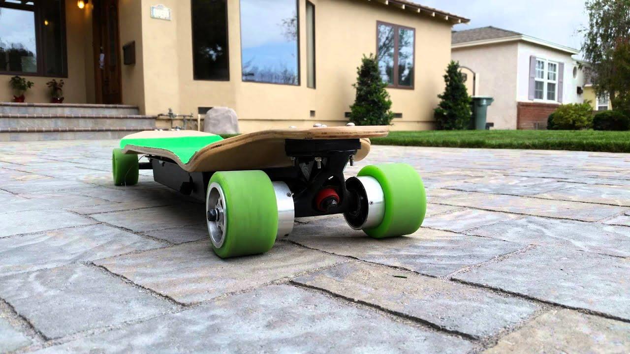 CarvONskates Electric Skateboard Longboard HUB MOTORS DIY Kit Montage  YouTube