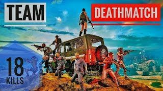 Team Deathmatch | Pubg New Update | 18 kills with a KD of 9 | 4v4 TPP |10 COMBO