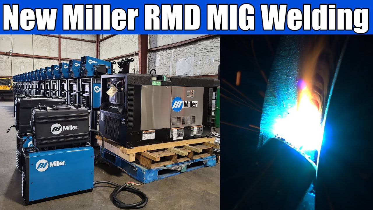 Download New Miller RMD Mig Welding on Pipe