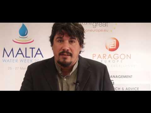 Malta Water Week Interview - Angel Martinez