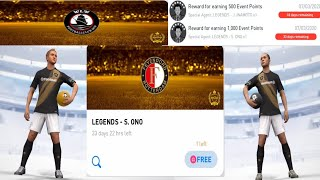 LEGENDS J. Inamoto & S. Ono Pack Opening in PES  2020 Mobile || PES Galaxy Mobile ||