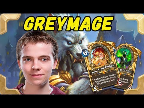 Thijs plays Genn Greymane mage deck (The Witchwood)
