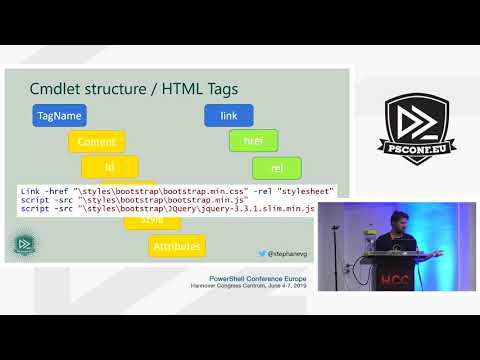 Stéphane Van Gulick - Creating And Hosting Beautiful Websites With PSHTML & Polaris