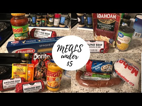 HOW TO COOK MEALS FOR $5 OR LESS DURING QUARANTINE: SPAGHETTI, TACOS, COTTAGE PIE & MORE!