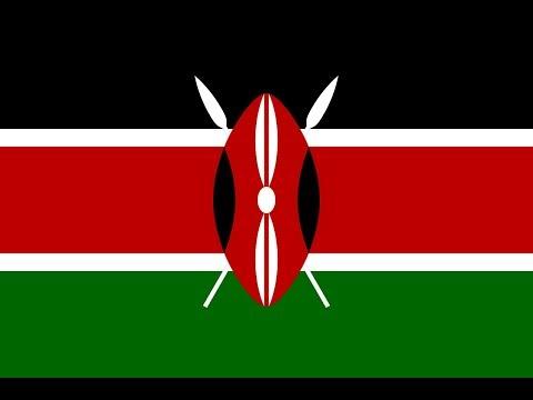 Флаг Кении.