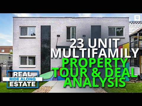 23 Unit Multifamily Real Estate Investment Property Deal Analysis & Tour | Real Estate Ride Along