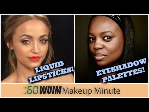 Kathleen Lights LIQUID LIPSTICKS Are Coming! Pat McGrath EYESHADOW PALETTES! | Makeup Minute