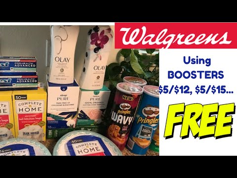 2nd WALGREENS COUPONING HAUL Using $5 Off BOOSTERS - 5/26/2020