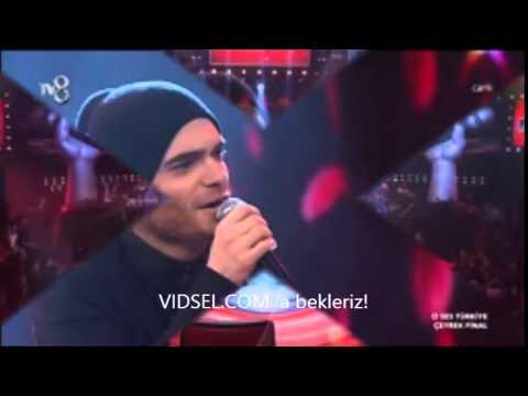 Elnur Hüseynov 11 Şubat O Ses Türkiye'de çeyrek finalde yine kırdı geçirdi