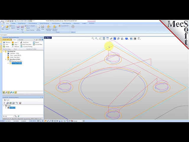 Profile-NEST Quick Start for VisualCAD/CAM 2021