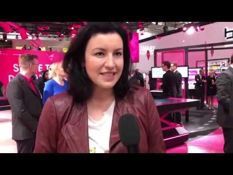 Social Media Post: Staatsministerin Dorothee Bär bei der Telekom