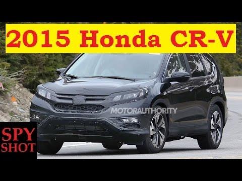 2015 Honda CR-V Spy Shot !