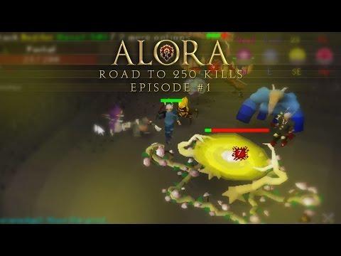 Alora RSPS: Road To 250 Kills - Episode 1