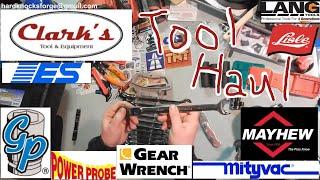 Clark's Tool Diagnostic Tools and Hand Tool Haul