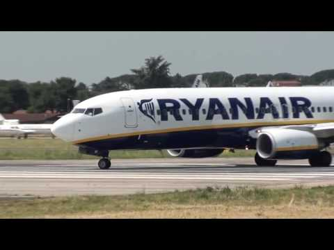 SPOTTING CIAMPINO PART 1 | landings and take offs | atterrag