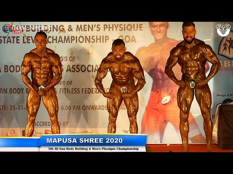 MAPUSA SHREE 2020 | 5TH BODYBUILDING & MEN'S PHYSIQUE CHAMPIONSHIP | CUTS & CURVES GYM