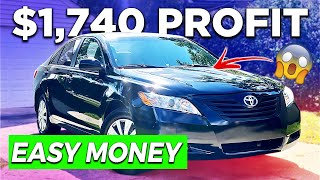 How To Flip Cars For Profit | EASY MONEY!
