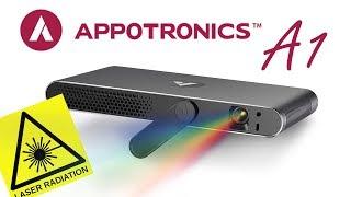 Лазерный ультракомпактный проектор APPOTRONICS A1 он же XMING M2. Полный обзор.