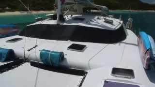 Quest 57' Luxury Simonis Catamaran for Charter in the BVI