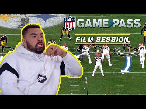 Cam Heyward Breaks Down Effort, Defeating Blocks & Point of Attack! | NFL Film Session