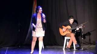 Begoña de Gomar Desfile Flamenco Anfiteatro 20140315