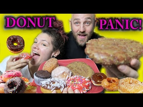DONUT PANIC! ITS A DONUT CHEAT DAY!