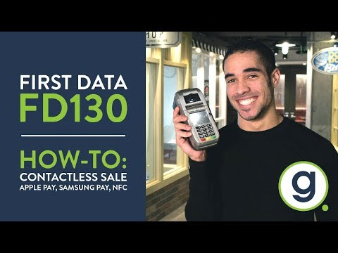 How To Run Contactless On FD130 Terminal | Apple Pay, Samsung Pay, NFC | Gravity Payments Support