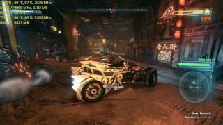 Batman  Arkham Knight 4K MAXED 7700K 5.1GHZ OC GTX 1080 TI  ASUS STRIX OC 2038MHZ