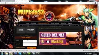 Jugar server MU Online Argentina GRATIS