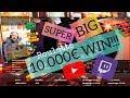 10 000€ WIN!! Super Big Online Roulette Hit!!