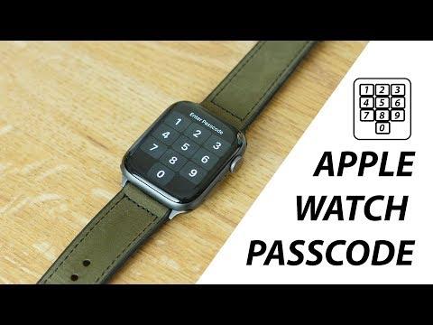 How to lock apple watch series 4 on wrist