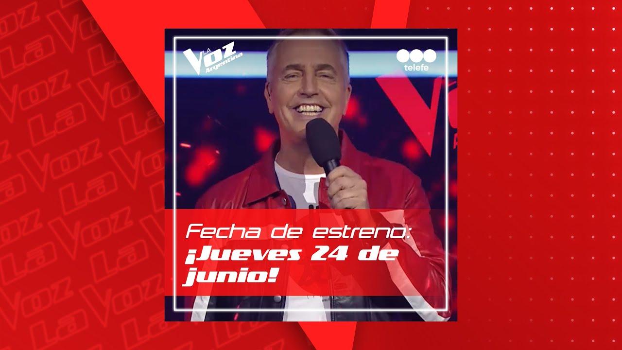 Fecha de estreno confirmada: jueves 24 de junio estrena La Voz Argentina 2021