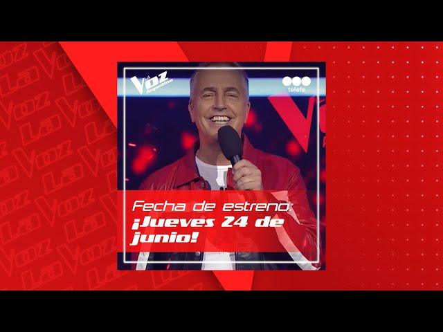 El 24 de junio arranca La Voz argentina en telefe