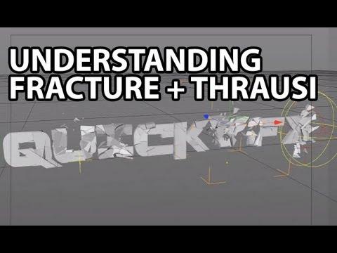 Cinema4D Tutorial: Understanding The Fracture Object +