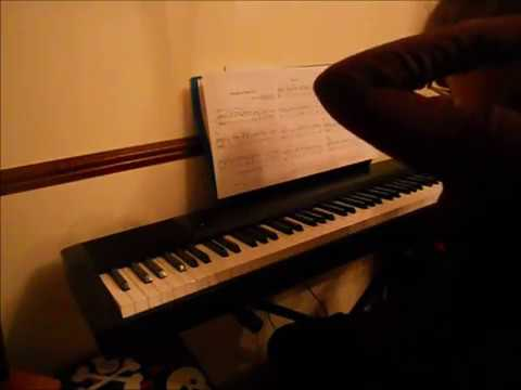 PIANO | learning 'Fairytale of New York'