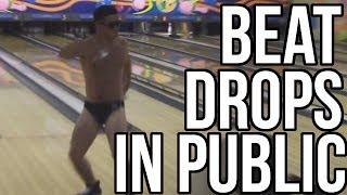 WHEN THE BEAT DROPS IN PUBLIC PRANK