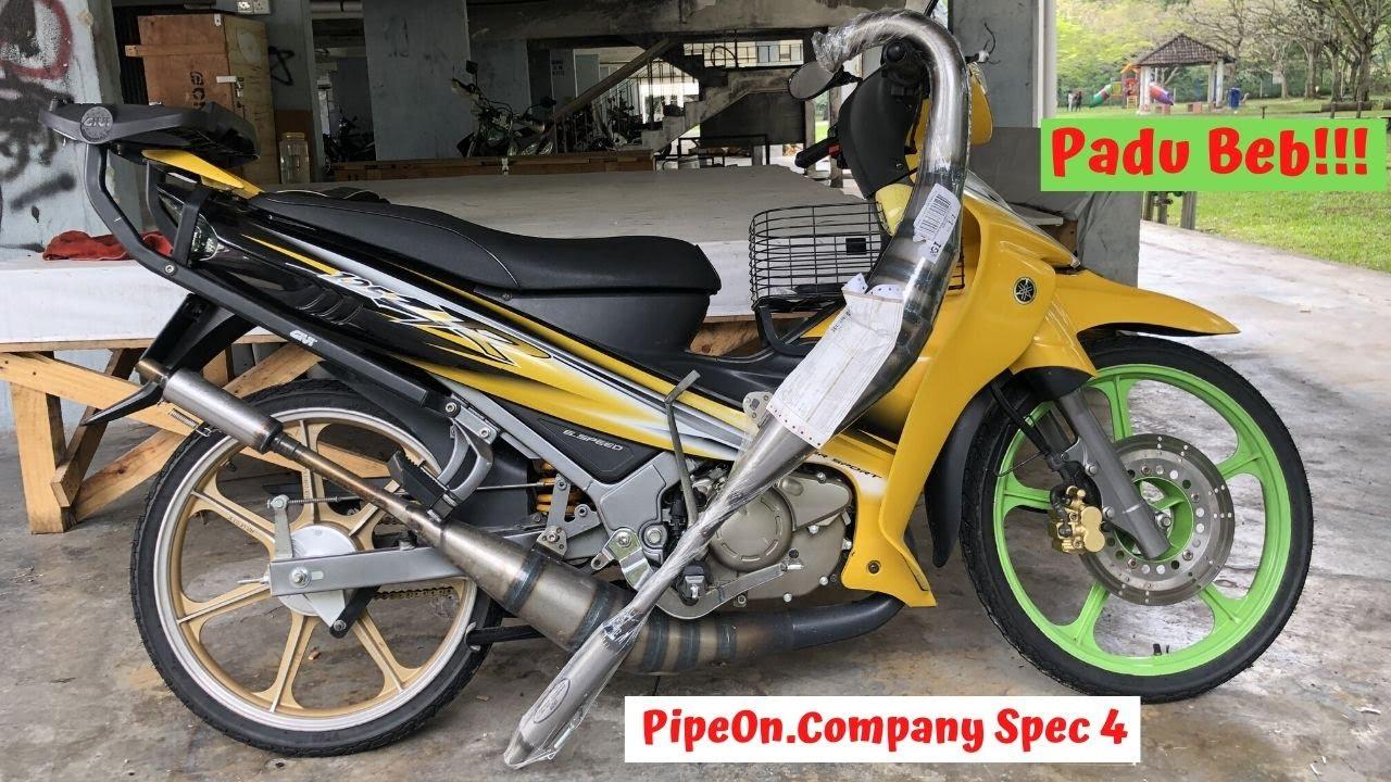 Yamaha 125ZR - Pipe On Company Spec 4