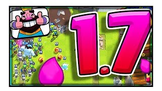 1.7 ELIXIR DECK, HOW!? • Clash Royale • Did We Actually Win?