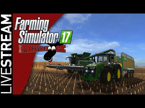 Farming Simulator 17 | Getting Started on Upper Mississippi River Valley | 8/24 Livestream