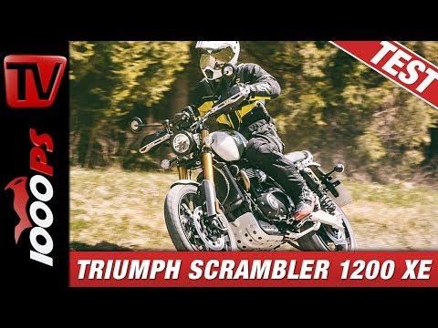 Triumph Scrambler 1200 XE  im Reiseenduro Vergleich 2019 - Test und Empfehlungen